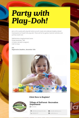Party with Play-Doh!