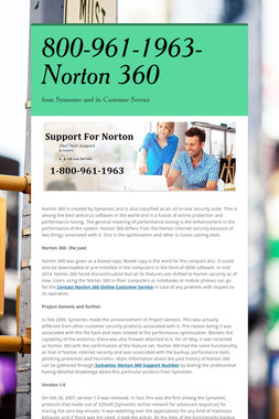800-961-1963-Norton 360