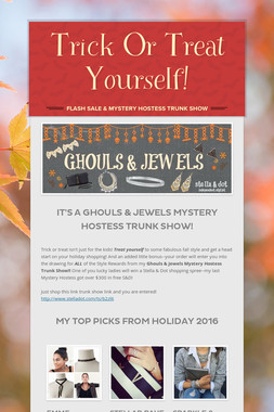 Trick Or Treat Yourself!