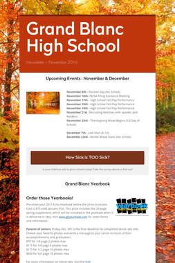 Grand Blanc  High School