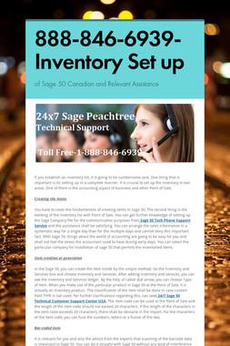 888-846-6939-Inventory Set up