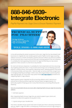 888-846-6939-Integrate Electronic