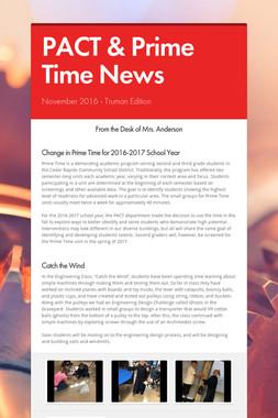 PACT & Prime Time News