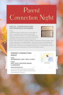 Parent Connection Night
