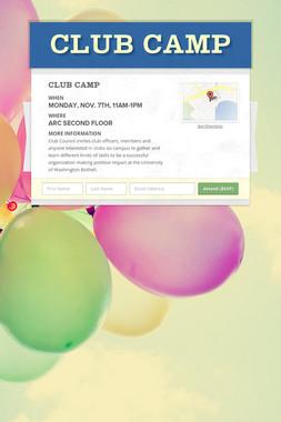 Club Camp