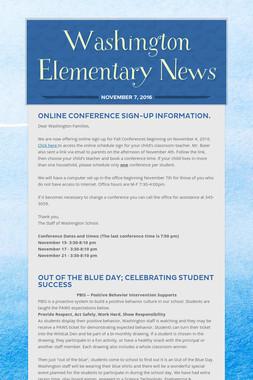 Washington Elementary News