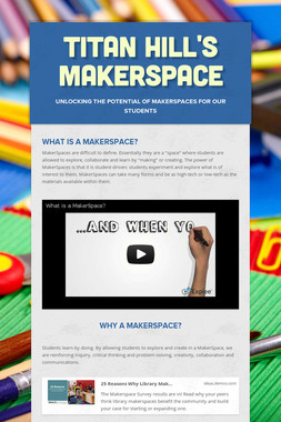 Titan Hill's MakerSpace