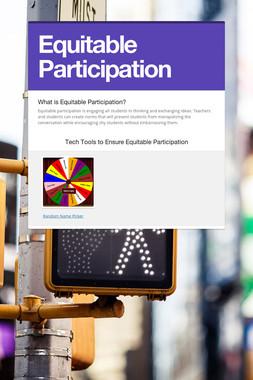 Equitable Participation
