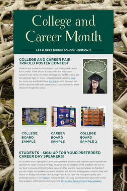 College and Career Month