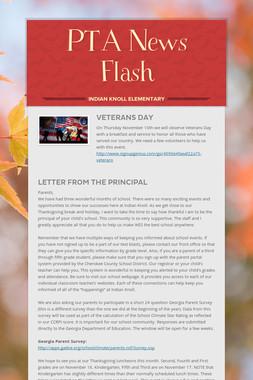 PTA News Flash