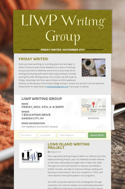 LIWP Writing Group