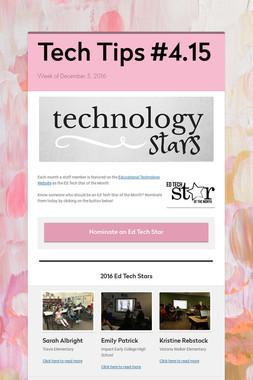 Tech Tips #4.15