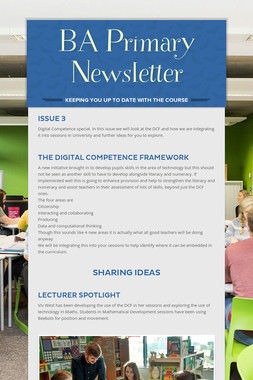 BA Primary Newsletter