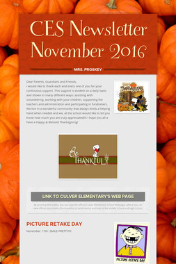 CES Newsletter November 2016