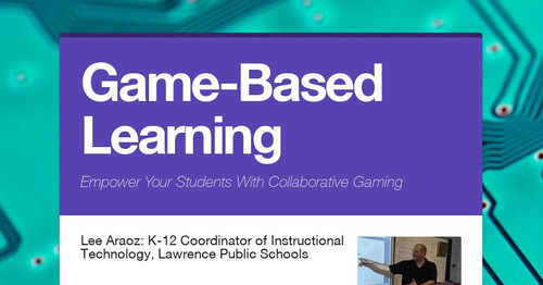 Innovative Classroom Quizlet ~ Game based learning smore newsletters for education