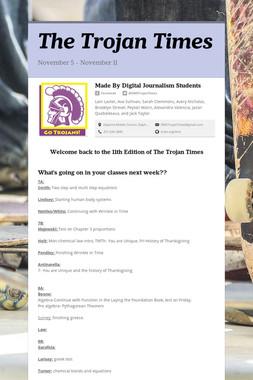 The Trojan Times