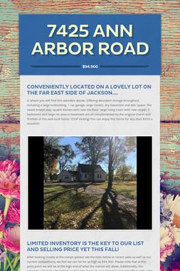 7425 Ann Arbor Road