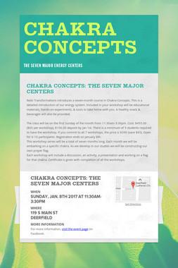 Chakra Concepts