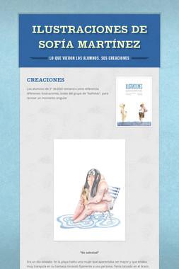 Ilustraciones de Sofía Martínez