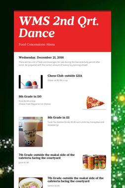 WMS 2nd Qrt. Dance