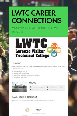 LWTC CAREER CONNECTIONS