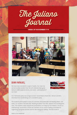 The Juliano Journal