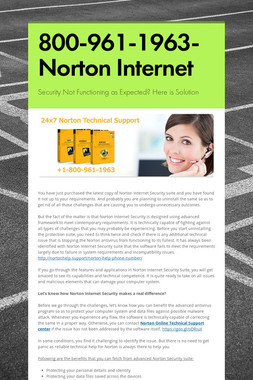 800-961-1963-Norton Internet