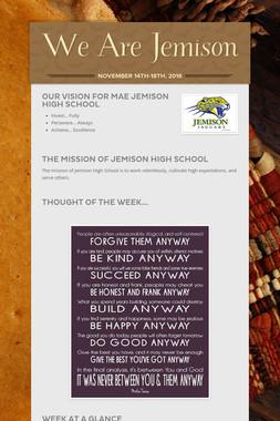We Are Jemison