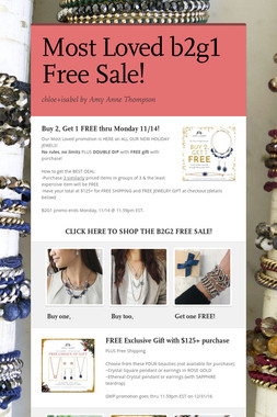 Most Loved b2g1 Free Sale!