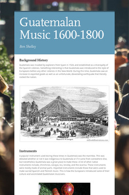 Guatemalan Music 1600-1800