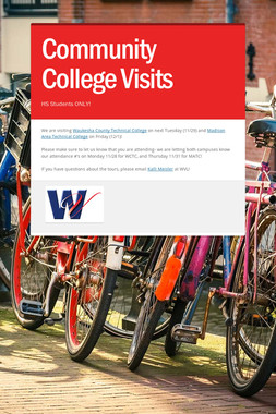 Community College Visits