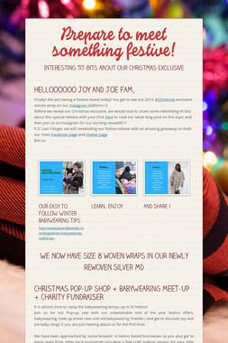 Prepare to meet something festive!
