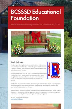 BCSSSD Educational Foundation