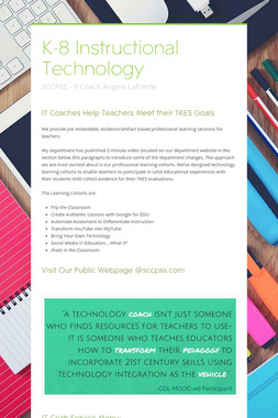 K-8 Instructional Technology