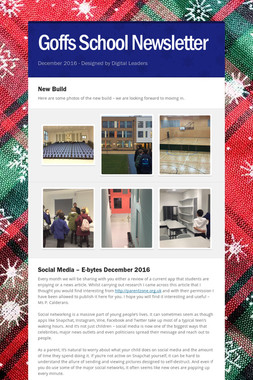Goffs School Newsletter