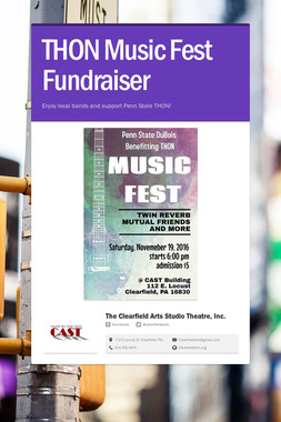 THON Music Fest Fundraiser