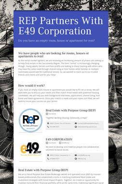 REP Partners With E49 Corporation