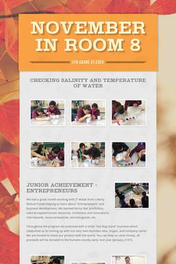 November in Room 8