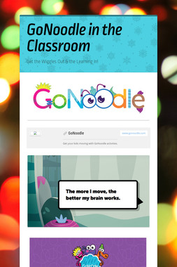 GoNoodle in the Classroom