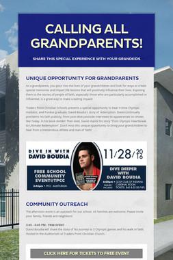 Calling all Grandparents!