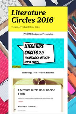 Literature Circles 2016