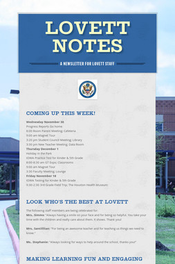 Lovett Notes