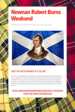 Newnan Robert Burns Weekend