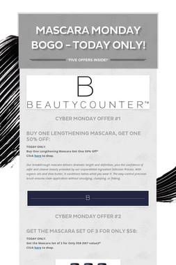 Mascara Monday BOGO - Today Only!