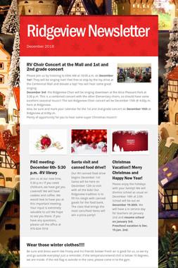 Ridgeview Newsletter