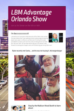 LBM Advantage Orlando Show