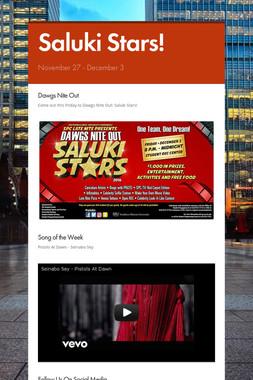 Saluki Stars!