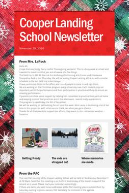 Cooper Landing School Newsletter