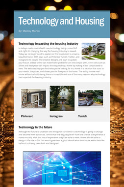 Technology and Housing