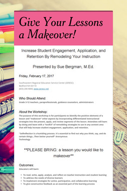 Give Your Lessons a Makeover!